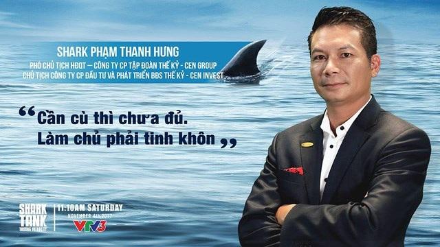 Câu nói truyền cảm hứng của Shark Hưng