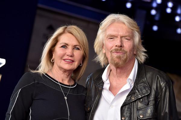 Branson và người vợ thứ hai, Joan Templeman
