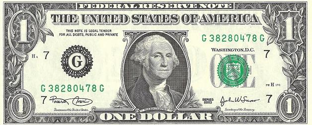 Tiền 1 usd