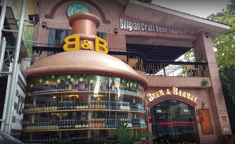Beer And Barrel - Nơi thưởng thức Bia Bỉ
