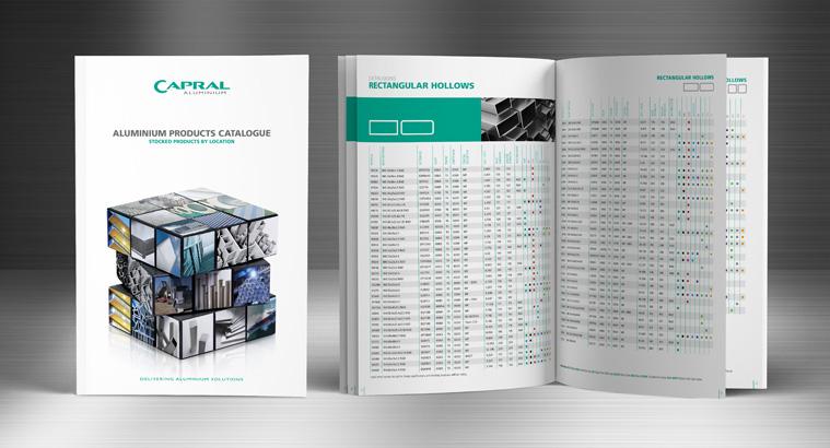 mẫu catalogue giới thiệu công ty phân tích Capral