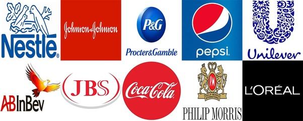 TOP 10 công ty FMCG lớn nhất thế giới