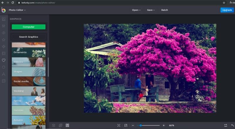 phần mềm chỉnh ảnh online