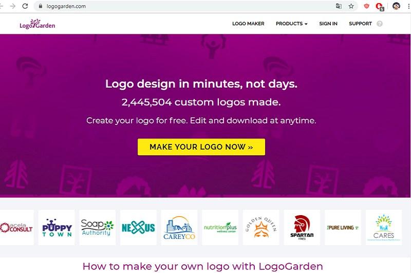 Tạo logo online miễn phí