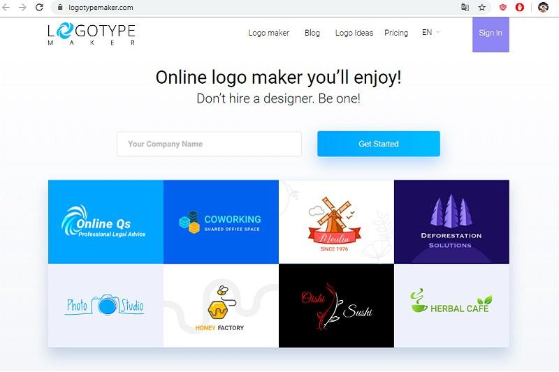 Thiết kế logo online chuyên nghiệp
