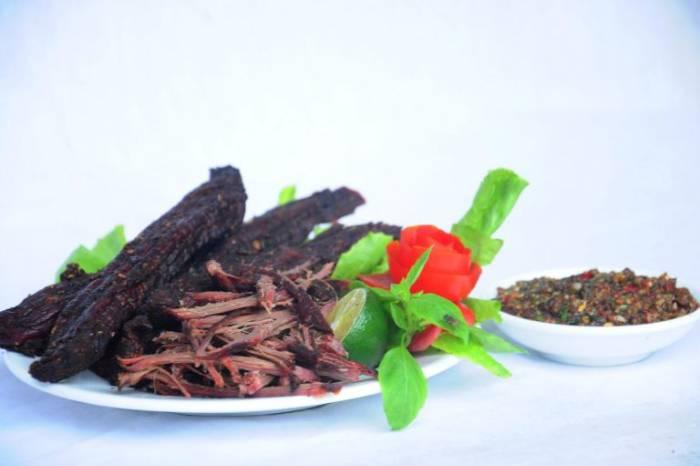 Thịt trâu gác bếp Tây Bắc - Sapa
