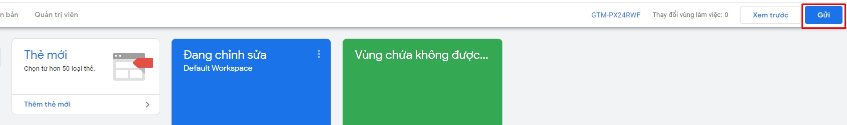 hướng dẫn cài đặt Google Tag Manager