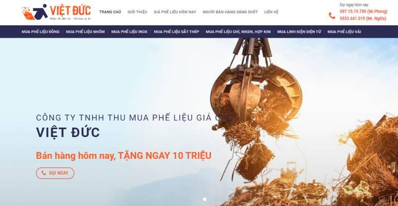 Thu mua Phế Liệu Việt Đức