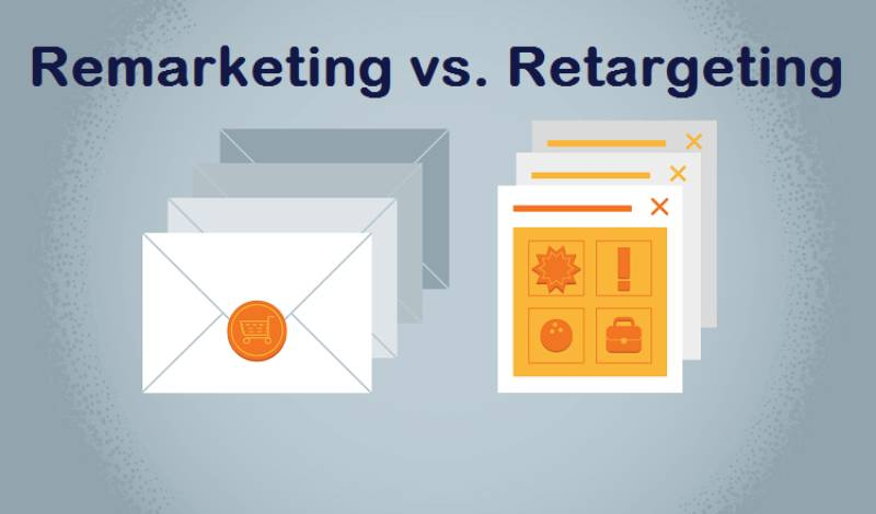 Sự khác nhau giữa remarketing và retargeting