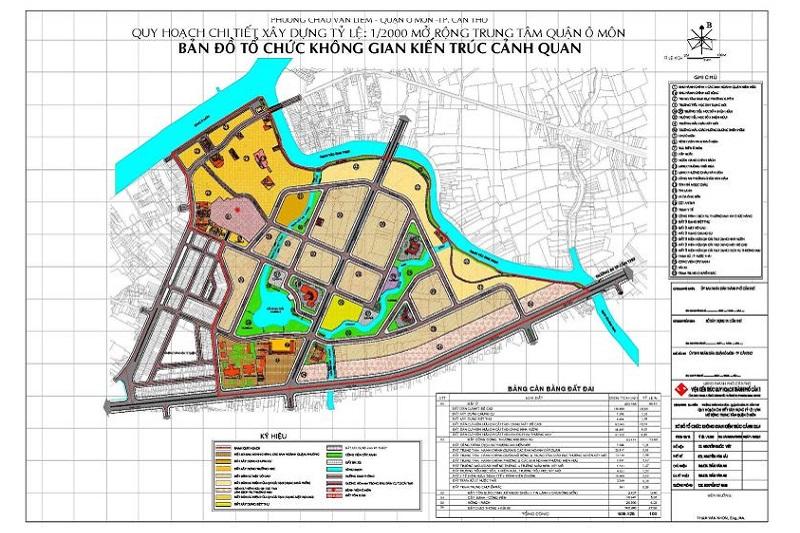 bản đồ quy hoạch chi tiết 1/2000
