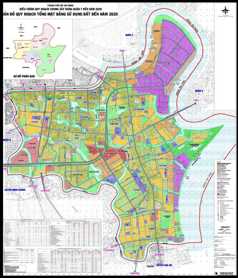 bản đồ quy hoạch chi tiết xây dựng 1/500