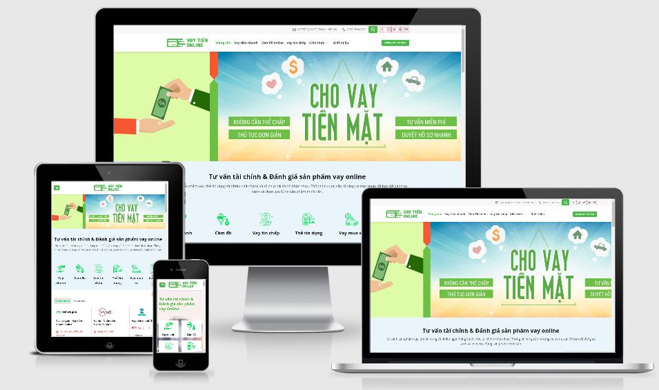 Giao diện thân thiện, nội dung phong phú, vaytienonline hiện là Website được ưa chuộng hàng đầu trong làng Fintech Việt Nam.