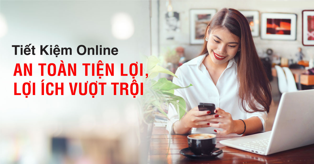 Tiết kiệm online Techcombank