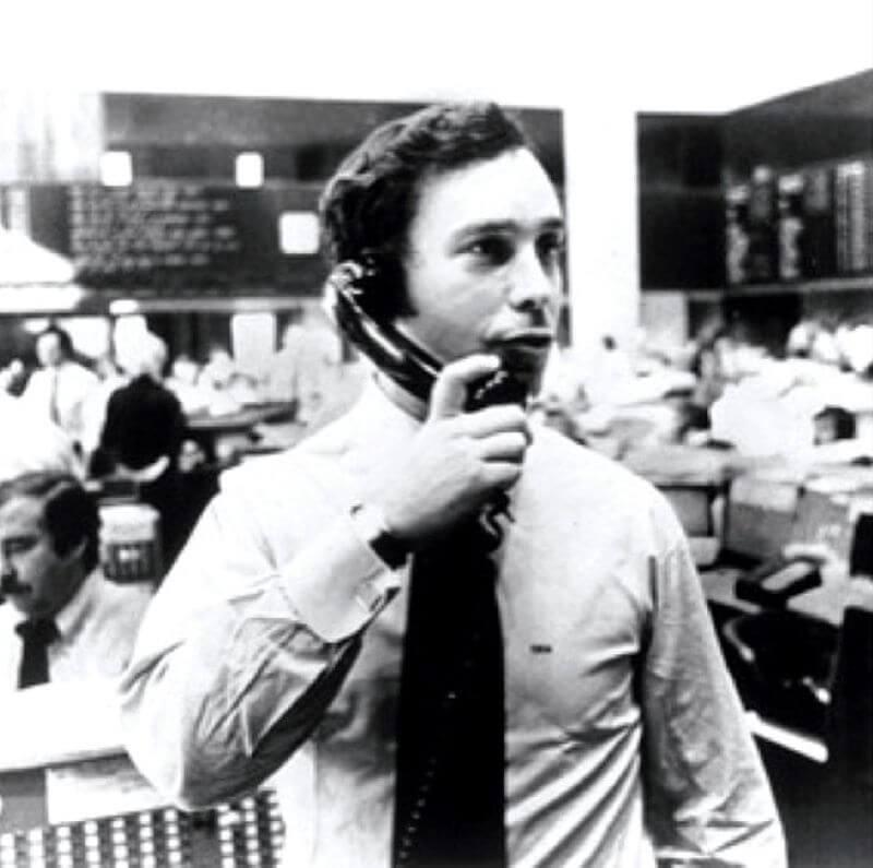 Michael Bloomberg lúc còn làm việc tại Salomon