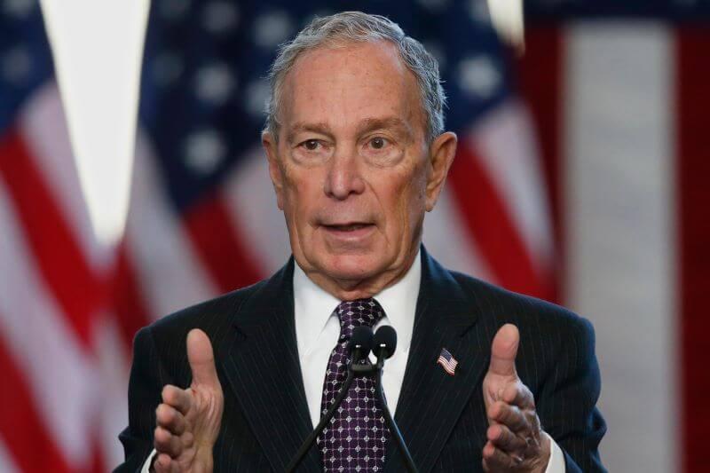 chân dụng Michael Bloomberg