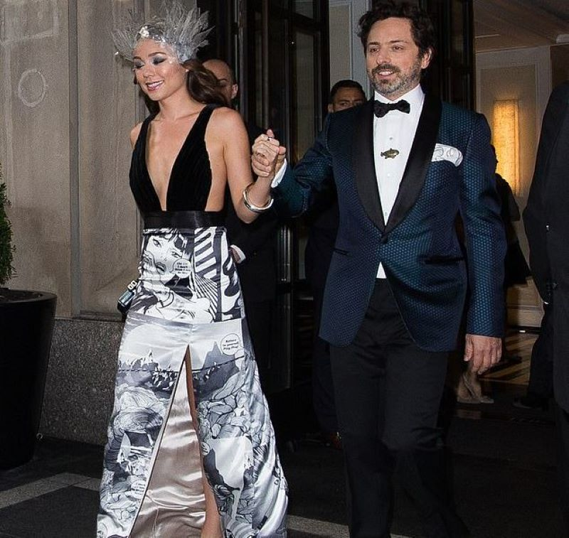 Sergey Brin và Nicole Shanahan