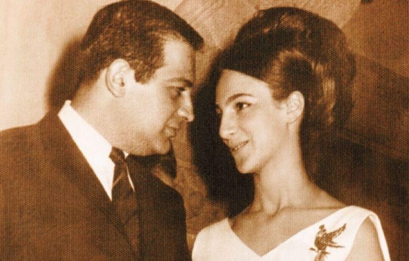 Carlos Slim thời trẻ và vợ