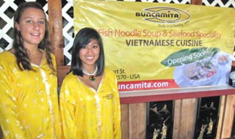 nhà hàng Buncamita trên đất Mỹ