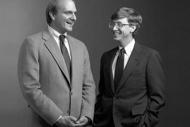 Steve Ballmer và Bill Gates