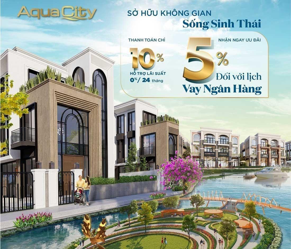 Aqua City Novaland là thiên đường để sống