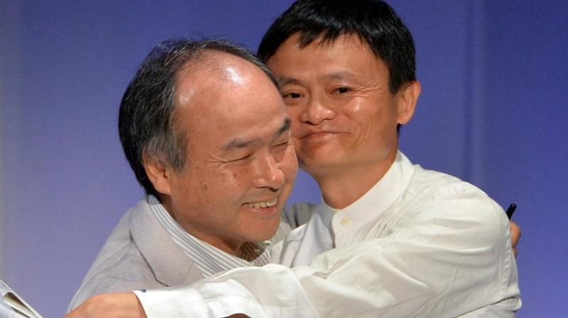 Masayoshi Son và Jack Ma